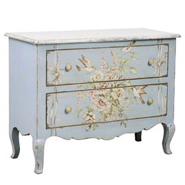 kino - Blue Flower Chest