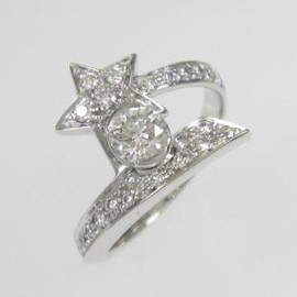 CHANEL - CHANEL COMET RING 0.30ct・F・VVS1・VERYGOOD