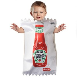 Ketchup Packet Baby Costume - Ketchup Packet Baby Costume