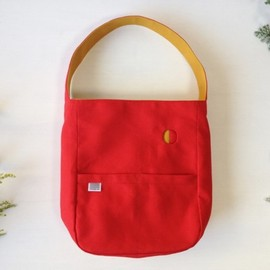 MMM MADE - Kuu handbag /クーハンドバッグ red