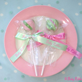 Baby Ribbon - Ball Twist Lollipop