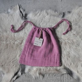 numero74 - Indian pink small purse