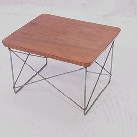 Herman Miller - Eames  LTR Table with Walnut Laminate Top