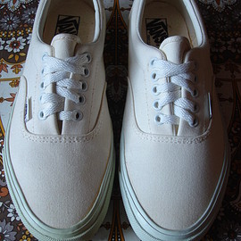 VANS - Era white canvas/foxing made in usa  1994