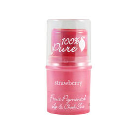 100%pure - Fruit Pimented Lip & Cheek Tint / ストロベリー