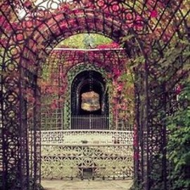 PINK: tunnel, arch