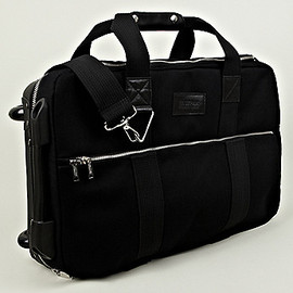 EASTPAK, KRIS VAN ASSCHE - Small Suitcase in Black