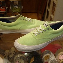 """converse - 「<used>90's converse SKIDGRIP lime""""made in USsA"""" ize:US11(29.5cm) 13800yen」完売"""