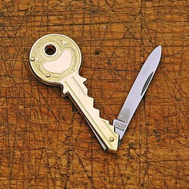 Key Shaped Pocket Knife