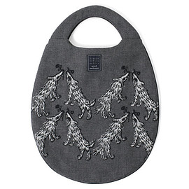 mina perhonen - wolf&flower egg bag