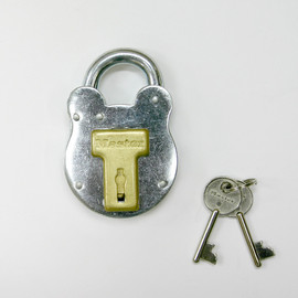 PACIFIC FURNITURE SERVICE - OLD ENGLISH PADLOCK