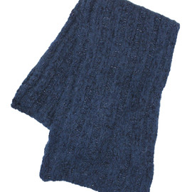Dries Van Noten - Dries Van Noten NAVY MUFFLER
