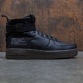 Nike x Bait - Nike SF Air Force 1 Mid Shoe ( Black / Dark Hazel )