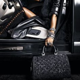 Louis Vuitton - Louis Vuitton black leather @}-,-;--