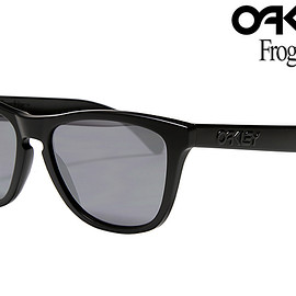OAKLEY - OAKLEY FROGSKINS「COVERT COLLECTION」MATTE BLACK/BLACK IRIDIUM