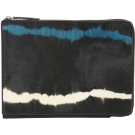 DRIES VAN NOTEN - Tie-Dye Ponyhair Tablet Case