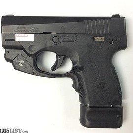 Beretta - BU9 Nano CAL 9mm (comes with crimson trace laser installed)