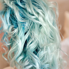 Clear Green - Hair color