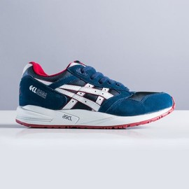 asics - Asics Gel Saga In Navy/Soft Grey