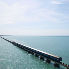 Rameshwaram, India - Pamban Bridge