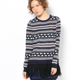 G.V.G.V. - JACQUARD KNIT DRESS