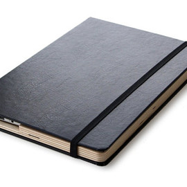 The Cartella for MacBook Air Moleskine hard Case-11 inch Black/Deep Sea Blue Ships EXPRESS Mail