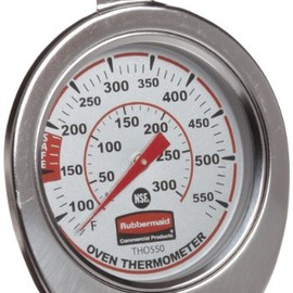 Rubbermaid - FGTHO550 Stainless Steel Oven Monitoring Thermometer