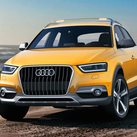 Audi - Q3 'golden dragon' concept for kitesurfers
