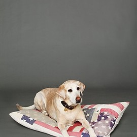 Free People - Vintage Flag Dog Bed