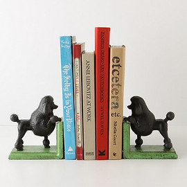 Anthropologie - Gomez The Poodle Bookends