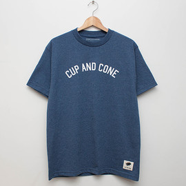 cup and cone - Arch Logo Tee - Blue