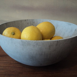 Brooklyn Home Design - Large Concrete Bowl