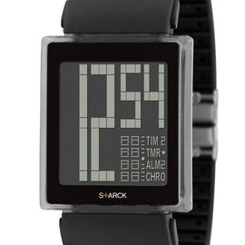 Fossil, PHILIPPE STARCK - S+ARCK Digital watch