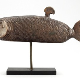 Stig Lindberg - Fish Sculpture for Gustavsberg