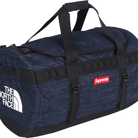 Supreme, THE NORTH FACE - Denim Base Camp Duffel