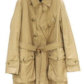 Engineered Garments - Storm Coat-Canvas/Khaki