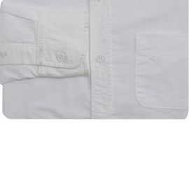 BAND OF OUTSIDERS - WHITE OXFORD B.D. SHIRT
