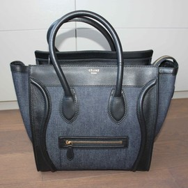 CELINE - Denim Luggage