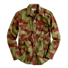 Wallace & Barnes - camouflage shirt