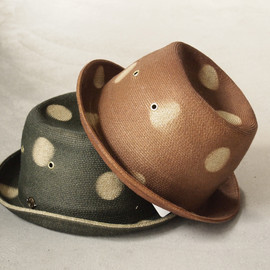DECHO - DOT BRAID PORK HAT