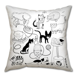 DesignAtelierArticle - Pillow cushion - Catomania - insert NOT included