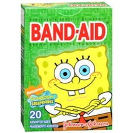 Johnson & Johnson - SpongeBob Squarepants BAND-AID
