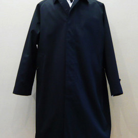 ANATOMICA - SINGLE RAGLAN COAT - Gabardine / Navy