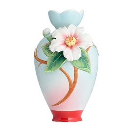 Franz Collection - sculptured porcelain small vase