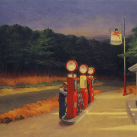 Edward Hopper - Gas Station
