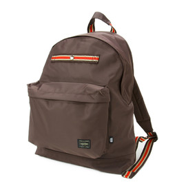 "HEAD PORTER - ""IVY"" DAY PACK BROWN"