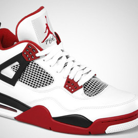 "Nike - Air Jordan 4 ""Fire Red"""