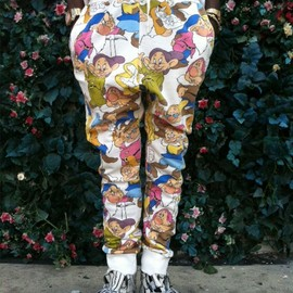 JOYRICH - SNOW WHITE HAREM PANTS