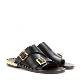 Chloé - COLBY LEATHER SANDALS