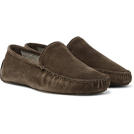 Thom Sweeney - Suede Slippers